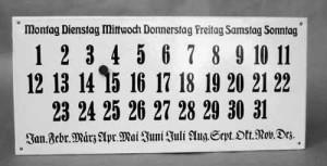 emaille-kalender